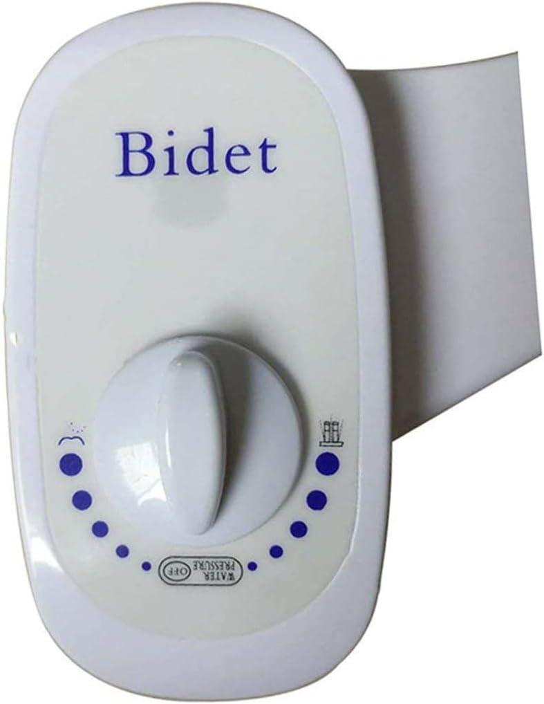 ROHSCE Toilet Bidet Seat Attachment Single Nozzle Non-Electric Manual Bathroom Fresh Water Cleaning Bidet Sprayer Flusher