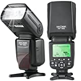 K&F Concept E-TTL Speedlite Flash with 1/8000s HSS Wireless Master/Slave Auto-Focus Function For Canon DSLR Cameras