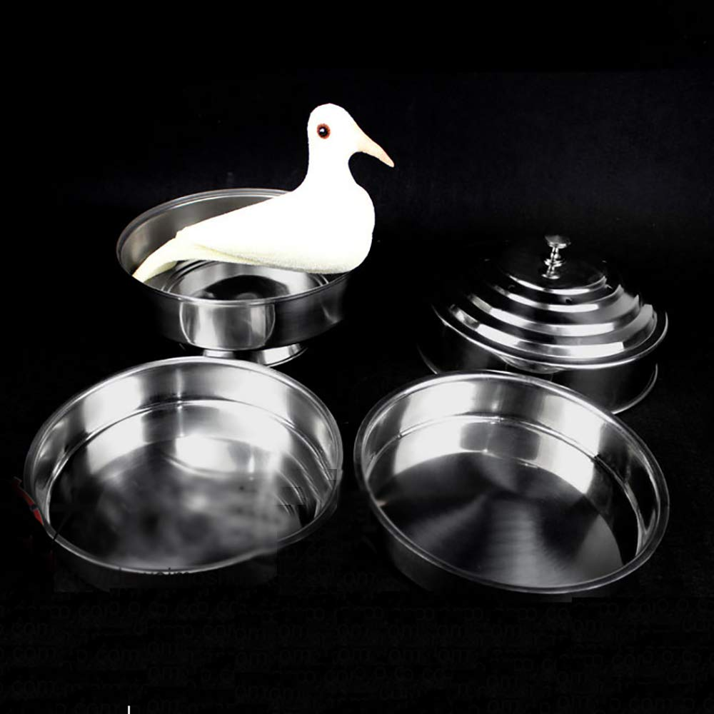 Enjoyer Fire Dove Pan Double Load Magic Tricks Stage Illusions Magician Props Appearing Tricks Accessories by Enjoyer (Image #5)