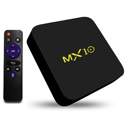 MX10 4G//64G Android 9.0 Smart TV BOX RK3328 Quad Core 4K HDR10 USB3.0 WiFi Media