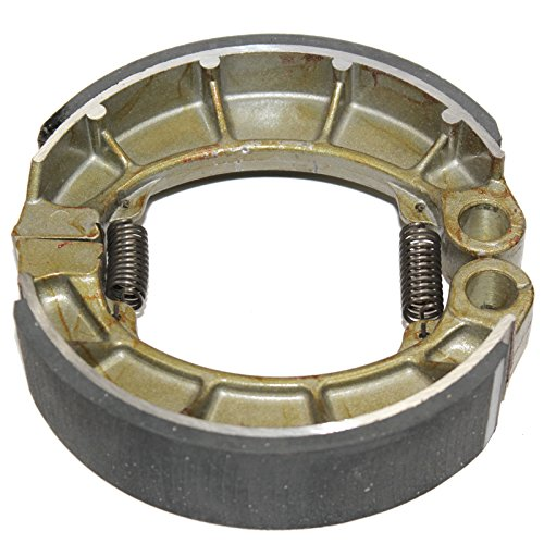 Caltric Rear Brake Shoes Fits HONDA VF700C Magna 700 1984, VF700S Sabre 700 1984 (Honda Vf700s Sabre)