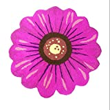 HOMEE Cartoon round sunflower non-slip carpet home hall foot pad bathroom bathroom bedroom kitchen hotel mat,3