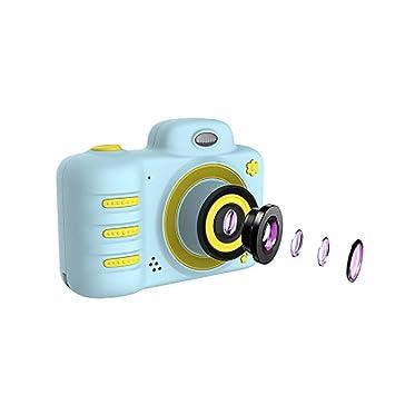 Cámara para niños Cámara de video digital HD de 1080P con cámara ...