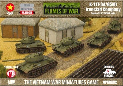 K-1 T-34/85m Ironclad Company Platoon - 1:100 ()