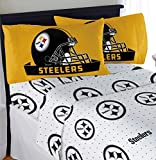 "Northwest NFL Pittsburgh Steelers ""Monument"" Full Sheet Set #242686799"
