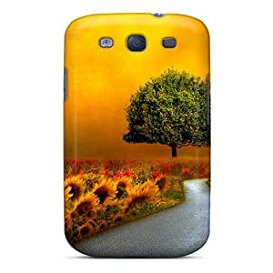 S3 Scratch-proof Protection Case Cover For Galaxy/ Hot Paradise Walkway Phone Case