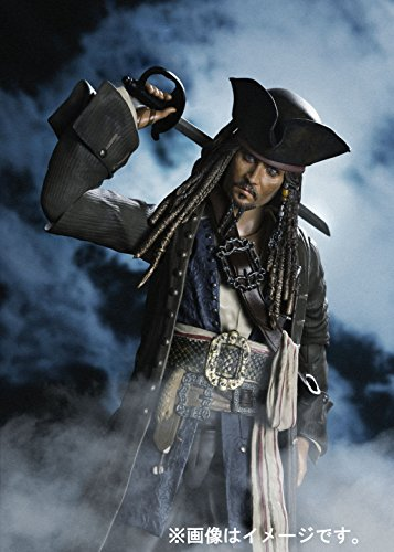 Figuarts Pirates of the Caribbean Captain Jack Sparrow About 150 mm ABS /& S H