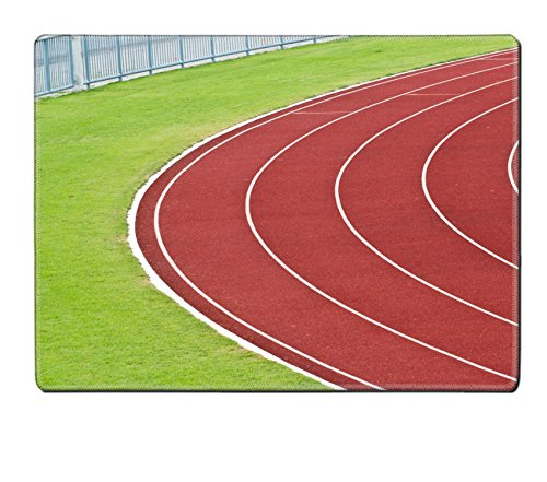 [MSD Placemat IMAGE ID 20885489 Curve of Race Track in Big Football Stadium] (985 Race)