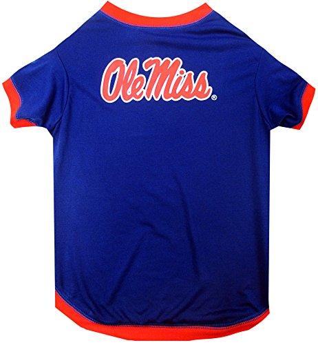 NCAA Mississippi OLE Miss Rebels Dog T-Shirt, Medium