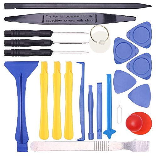Smartphone Repair Tool kit with Craftsman Smartphone Repair Tool Kit 22 Pcs for iPhone, Huawei, SUMSUNG, MI, LG, Moto and (Best Tools For Smartphone)