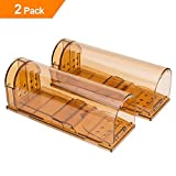 VENSMILE Humane Smart Mouse Trap No Kill Live Catch with Air Holes(2)