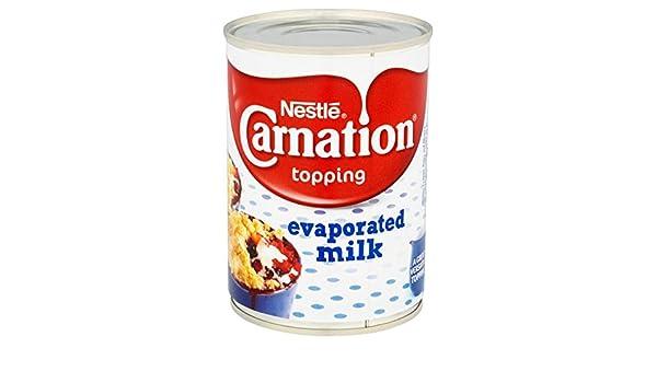 Nestle Carnation Leche Evaporada - 6 Paquetes de 410 gr - Total: 2460 gr: Amazon.es: Alimentación y bebidas
