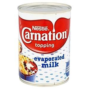 Nestle Carnation Leche Evaporada - 6 Paquetes de 410 gr - Total ...