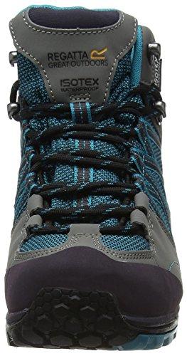 Enamel Regatta Trekking Damen Blau Wanderstiefel amp; Mid Charc L Samaris qOqp1