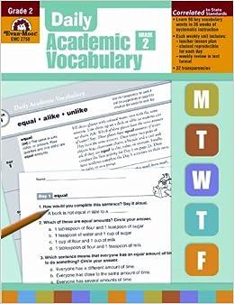 Daily Academic Vocabulary Grade 2