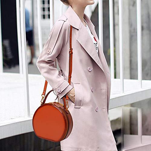 Moda Primavera Pelle Ed A Estate Tascabile Borse Tracolla In Borsa Portatile Brown a0w0q816