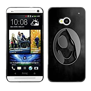 LECELL -- Funda protectora / Cubierta / Piel For HTC One M7 -- Crest --