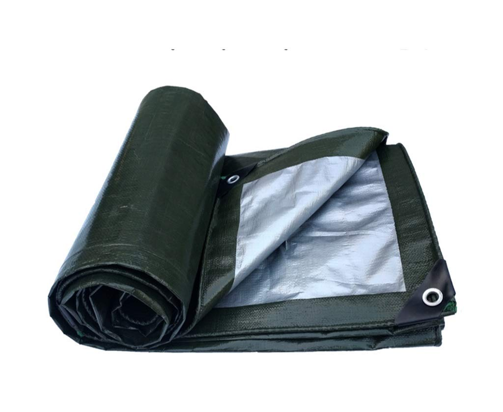 QQHWDT LYX® Plane, verdicken imprägniern Sie Tuch-Plastik-Oxford-Stoff-LKW-Schatten-Überdachungs-Sonnenschutz Linoleum-regendichter Stoff