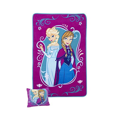 Disney Toddler Pillow and Blanket Set, Frozen