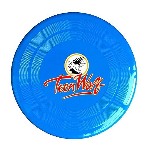 SAXON13CAP Geek Teen Wolf Logo 150g RoyalBlue Toy Flying Disc