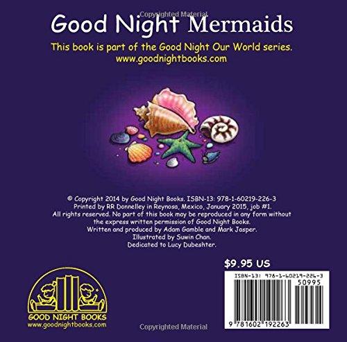 21b137db209d Good Night Mermaids (Good Night Our World): Adam Gamble, Mark Jasper, Suwin  Chan: 9781602192263: Amazon.com: Books