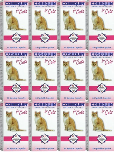 Cosequin Feline for Cats 80 ct x 12 pk by Nutramax