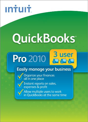 QuickBooks Pro 3-User 2010  [Download] [OLD VERSION]