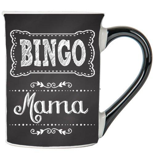 Bingo Mama Mug, Bingo Mama Coffee Cup, Ceramic Bingo Mama Mug, Custom Bingo Mama Gifts By Tumbleweed