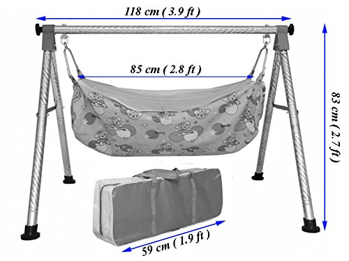 Multipro Baby Cradle Swing Indian Ghodiyu Newborn Baby