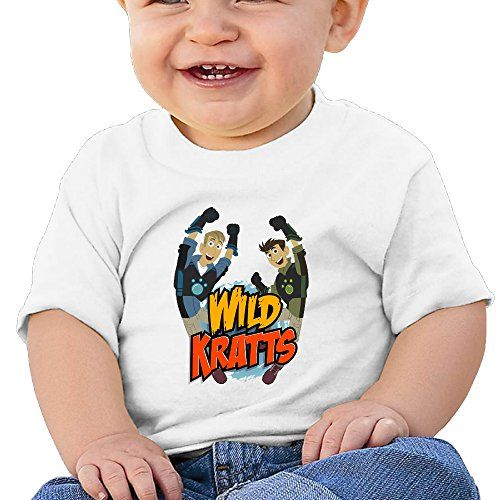 [KIDDOS Infants &Toddlers Baby's Wild Kratts Tees 6 M White] (Alvin And The Chipmunks Costumes For Kids)