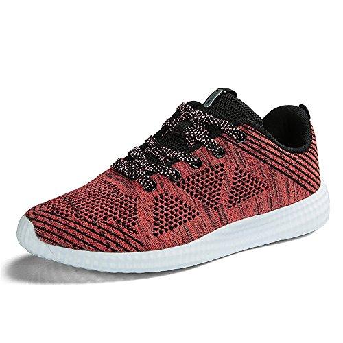 Foncé Homme De Fitness Gym Sports Athlétique Femme Course Rouge Running Chaussures Sneakers fHFrAPqwf