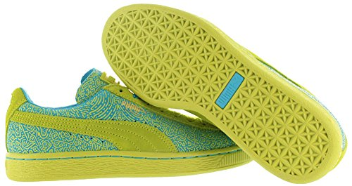 Suede X Solange Sulphur UK Blue Shoes Trainers Women's Sizes Court Puma Spring xEfwx