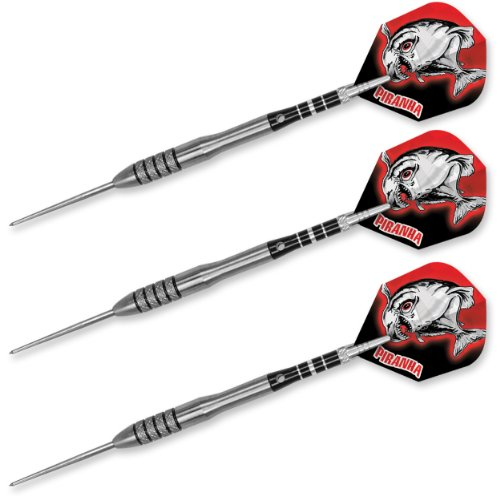 Dart World 19103 Piranha 90% Tungsten Dart (25-Gram)