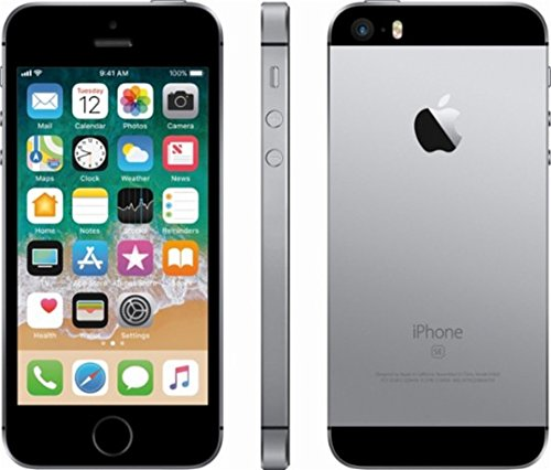 Apple iPhone SE 32GB Factory Unlocked Smartphone for GSM Carriers, Space Gray]()