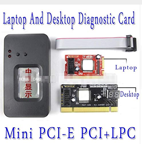 Motherboard Diagnostic Test - 3 in 1 PC Motherboard Diagnostic Test Tester/LPC Port Laptop PC Motherboard Diagnostic Post Tester Card‎