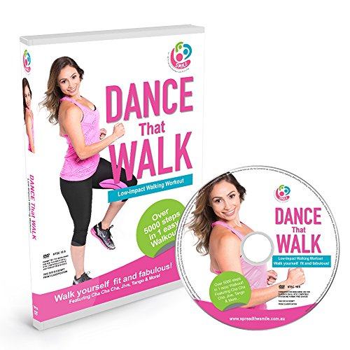 (DANCE That WALK - 5000 Steps in One Easy Low Impact Walking Workout DVD )