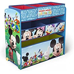 Delta Children Mickey Mouse Clubhouse Multi Bin