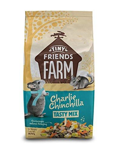 Supreme Petfoods Tiny Friends Farm Charlie Chinchilla Food, 2 Lb ()