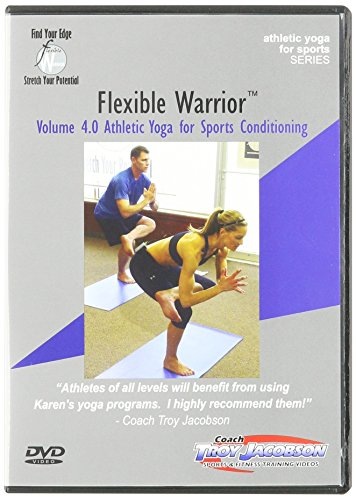 Spinervals Flexible Warrior 4.0 Athletic Yoga for Sports DVD by Spinervals