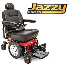 Pride Mobility JAZZY600ES Jazzy 600 ES Electric Wheelchair by Pride Mobility