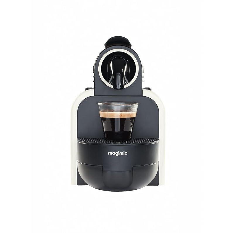 MAGIMIX Nespresso M100 blanc sable - 11312: Amazon.fr: Cuisine ...