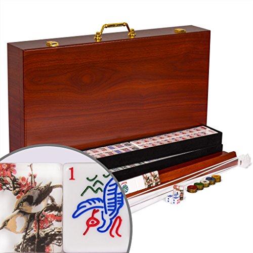 Complete American Mahjong (Mah Jongg Mahjongg) 166 Tiles ...