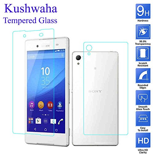 Kushwaha Tempered Glass Front   Back for Sony Xperia Z3 Plus Dual 5.2 inch