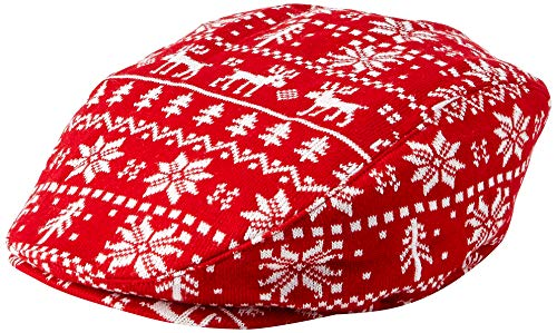 Wembley Men's Christmas Novelty Hat, White/red, One Size -