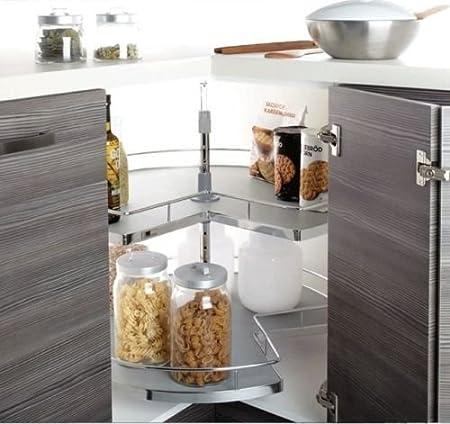 Kitchen 3/4 Carousel Storage Unit To suit 900L Configuration Corner Base Unit Universal & Kitchen 3/4 Carousel Storage Unit To suit 900L Configuration Corner ...