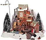 Lemax Christmas - Oak Creek Grist Mill with 4.5v