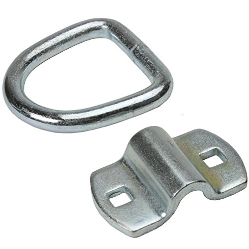 2-5/16'' Type 316 Stainless Steel Mounting Ring (Break Strength: 6,000 lbs.) - 4 Pack