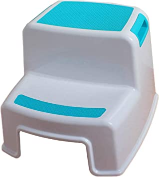 KJZ Escalera antideslizante, escalera plástica del hogar Escalera antideslizante portátil para niños de interior Tamaño de escalera 30.5 * 36 * 26.5 CM (Color : Azul, Tamaño : 30.5 * 36 * 26.5CM): Amazon.es: Bricolaje y herramientas