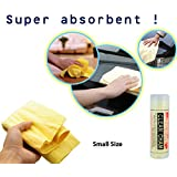 Clean Cham Small Size Liquid Absorbing Chamois Cleaning Cloth