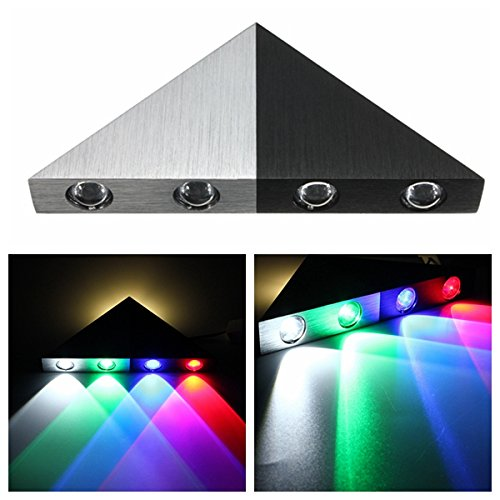 5W Modern Triangle LED Wall Sconce Bedroom Hotel Decorative Light